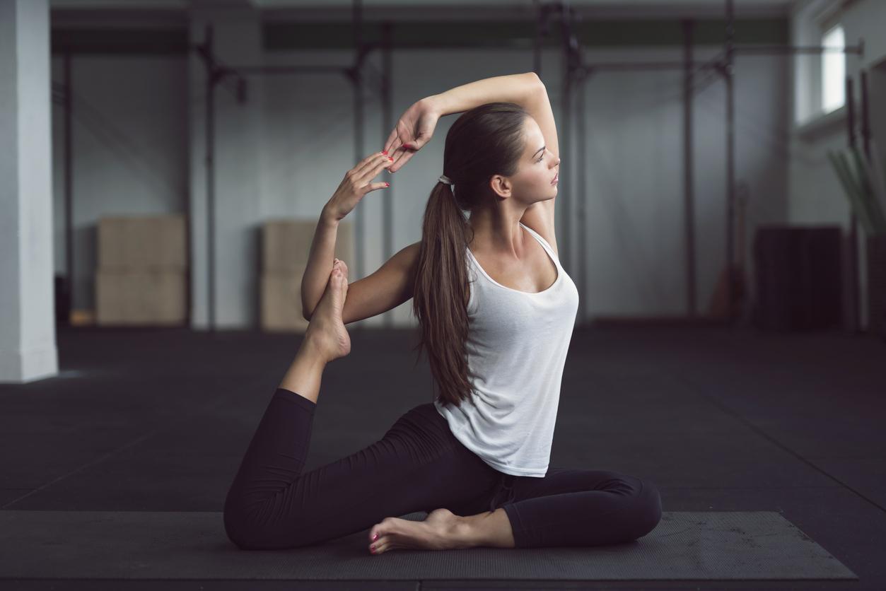 Sports spoit eyecatch yoga and pilates hairstyle