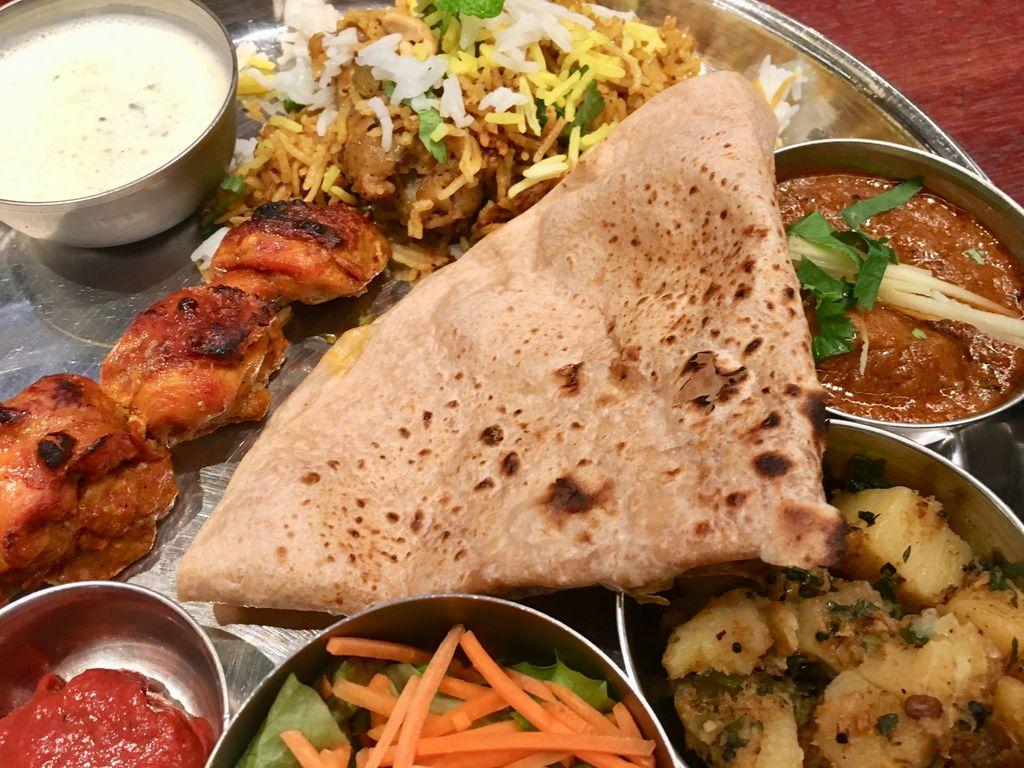 やーしぶの南インド料理店