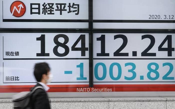底が抜けたか? 1BTCは65万円割れ、日経平均は一時1,000円を超える下落(3月12日)