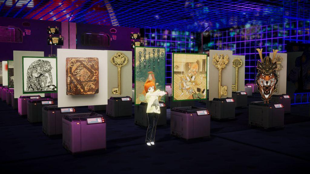 仮想商店Conataの、3Dバーチャルコレクションルームで、自作のNFTをながめてニンマリする