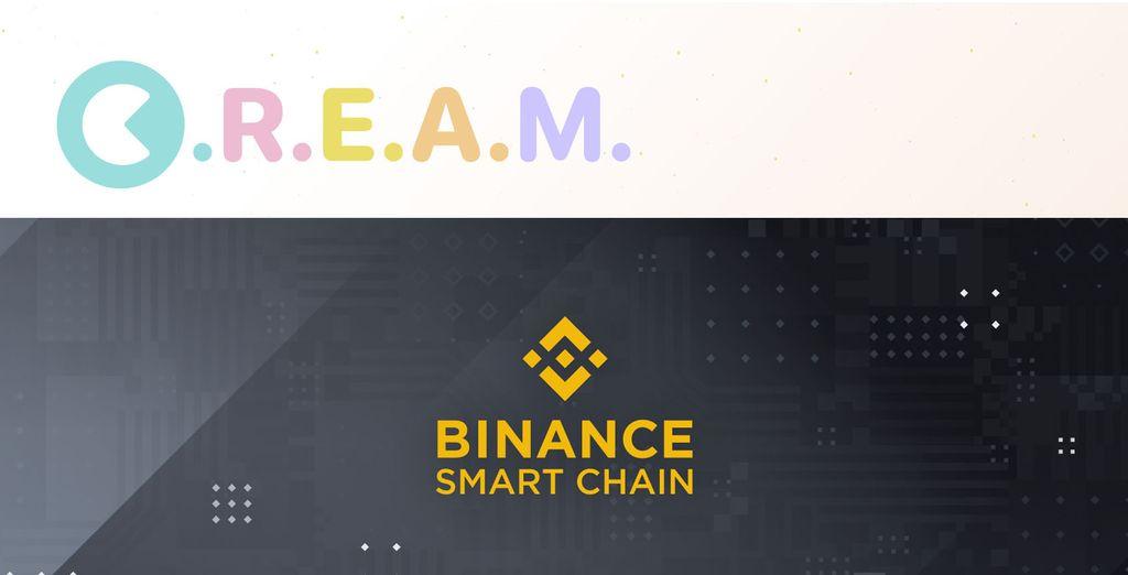 BinanceSmartChainでCream祭りに参加する方法