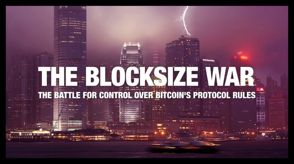 The Blocksize War 読んでるけどめちゃ面白い