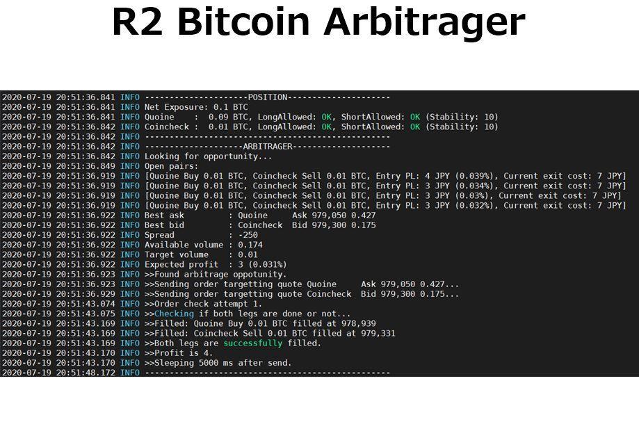 裁定取引botの実験(2020年2月~7月)