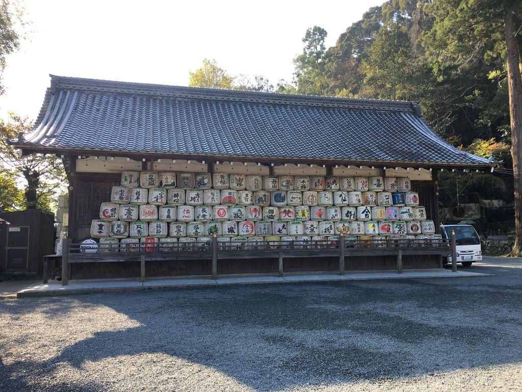 日本酒の神様がいる松尾大社に行ってみた
