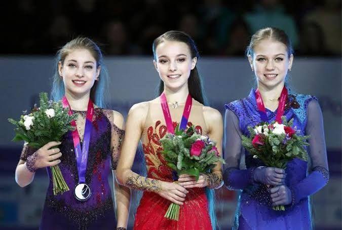 """フィギュアスケートの""""ロシア三人娘""""が、かわいいっ!!!"""