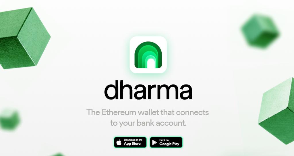 Dharma DeFiと銀行口座を接続するアプリケーション