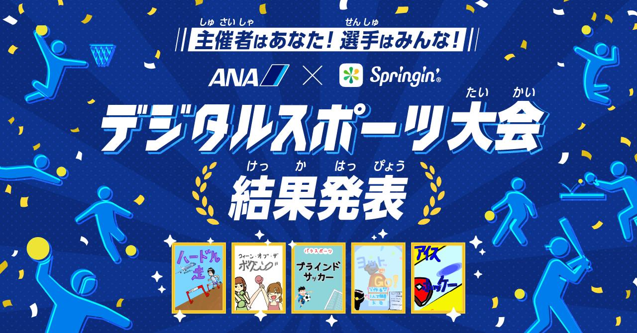 デジタルスポーツ大会 結果発表!優秀賞・特別賞・新人賞は誰の手に…!?