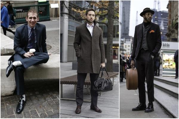 ニューヨークVSロンドン ウォール街とシティ・オブ・ロンドンを歩くビジネスマンのオシャレ対決!│WWD JAPAN