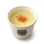 とうもろこしとさつま芋のスープ