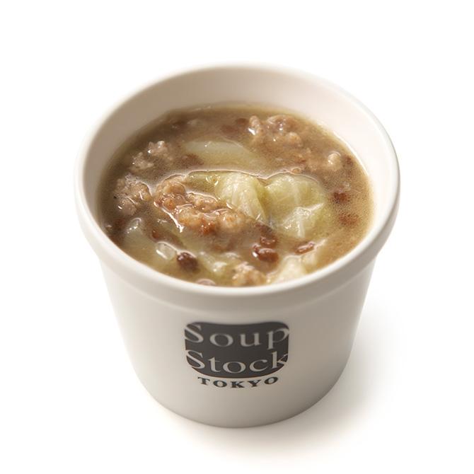 豚肉と緑レンズ豆のオーベルニュ風煮込みスープ