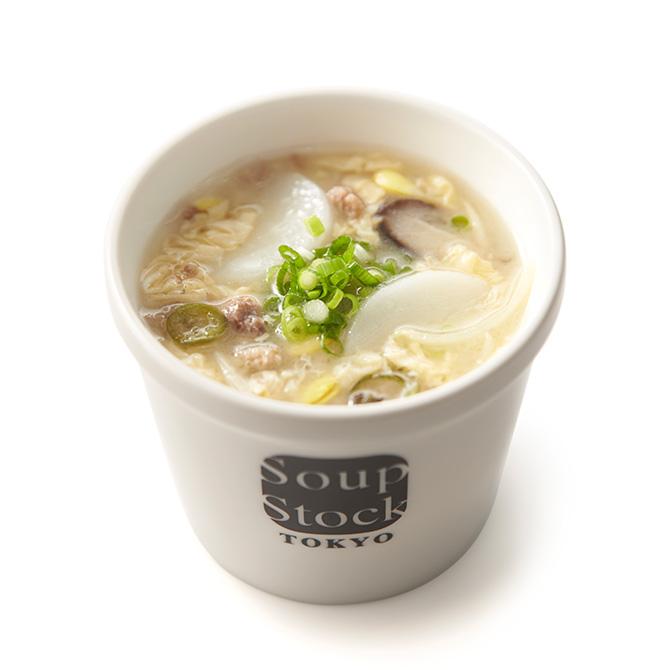 牛挽肉と豆もやしの韓国風雑煮