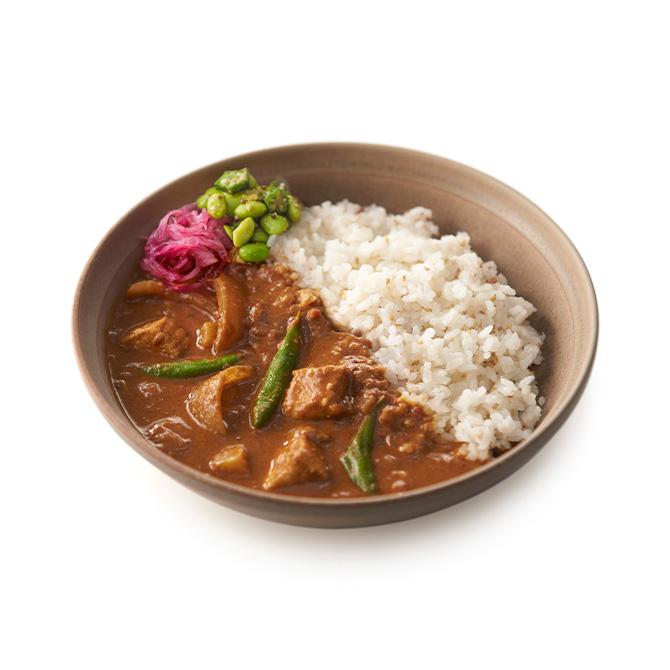 魚のスリランカ風スパイスカレー