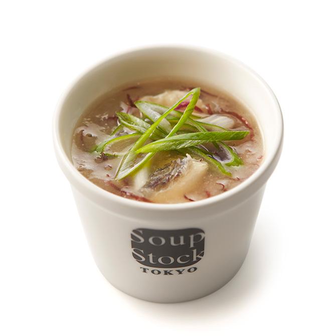 鯛の胡麻和えと鯛だしのスープ