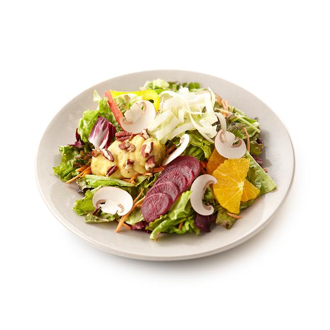 安納芋と7種の野菜のベジタリアンサラダ