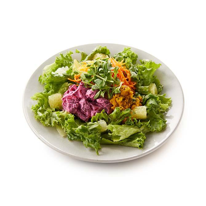 3種のデリのグリーンサラダ