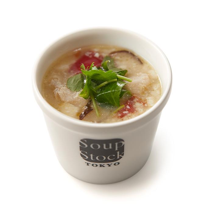 鶏むね肉とトマトの塩糀(しおこうじ)スープ