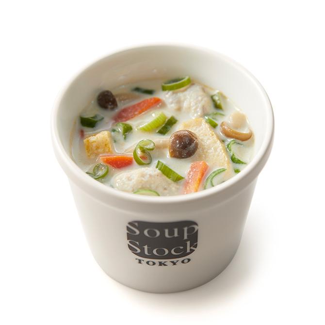 弥冨(やとみ)農園の葉ねぎと鶏つくねの和風スープ