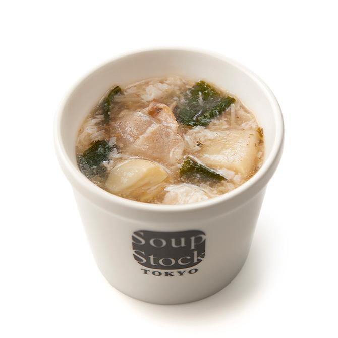 雪梅蛋花湯(梅と筍の中華スープ)