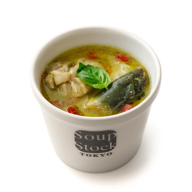 タイ風グリーンカレースープ*