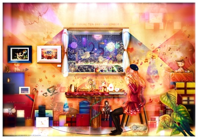 Lipton 125th Anniversary TEA WAY ART COLLECTION 光のなかにいる