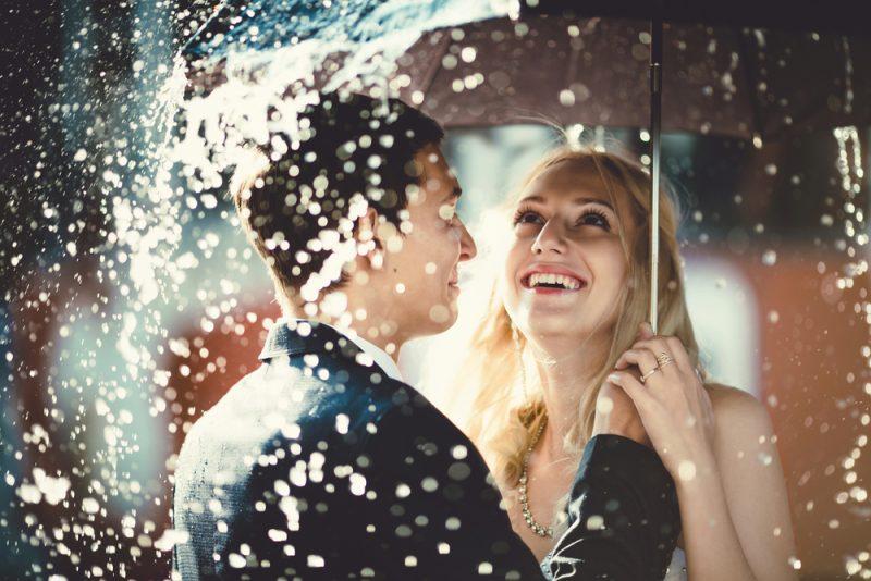 雨 結婚式