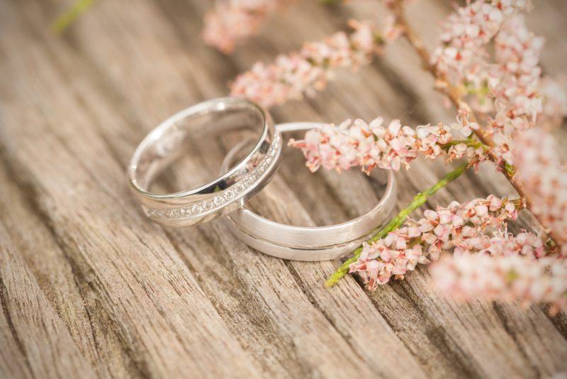 入籍と結婚指輪