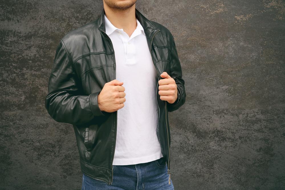 ポロシャツ&ジャケットの上品カジュアルなスタイル集