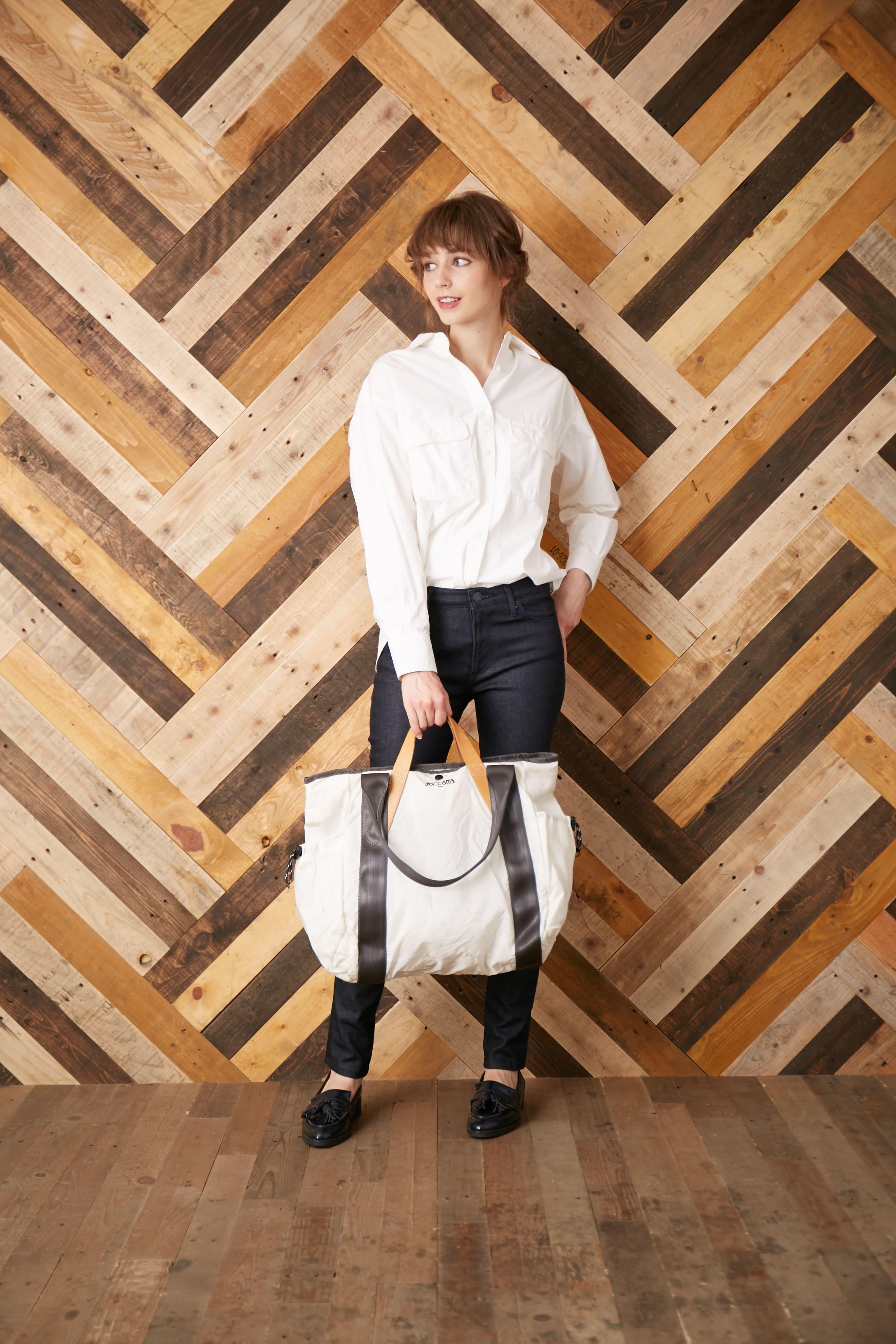 どうやってエアバッグが「鞄」になったのか。再生プロジェクト【yoccatta】