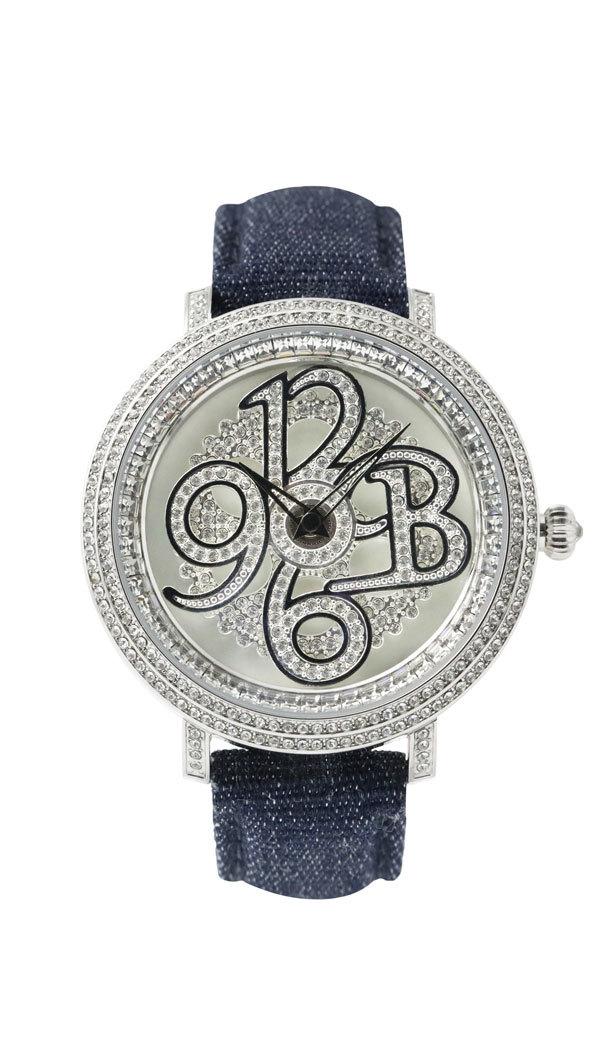 男性時計│スワロフスキーの輝きが魅力的な存在感【BRILLAMICO】