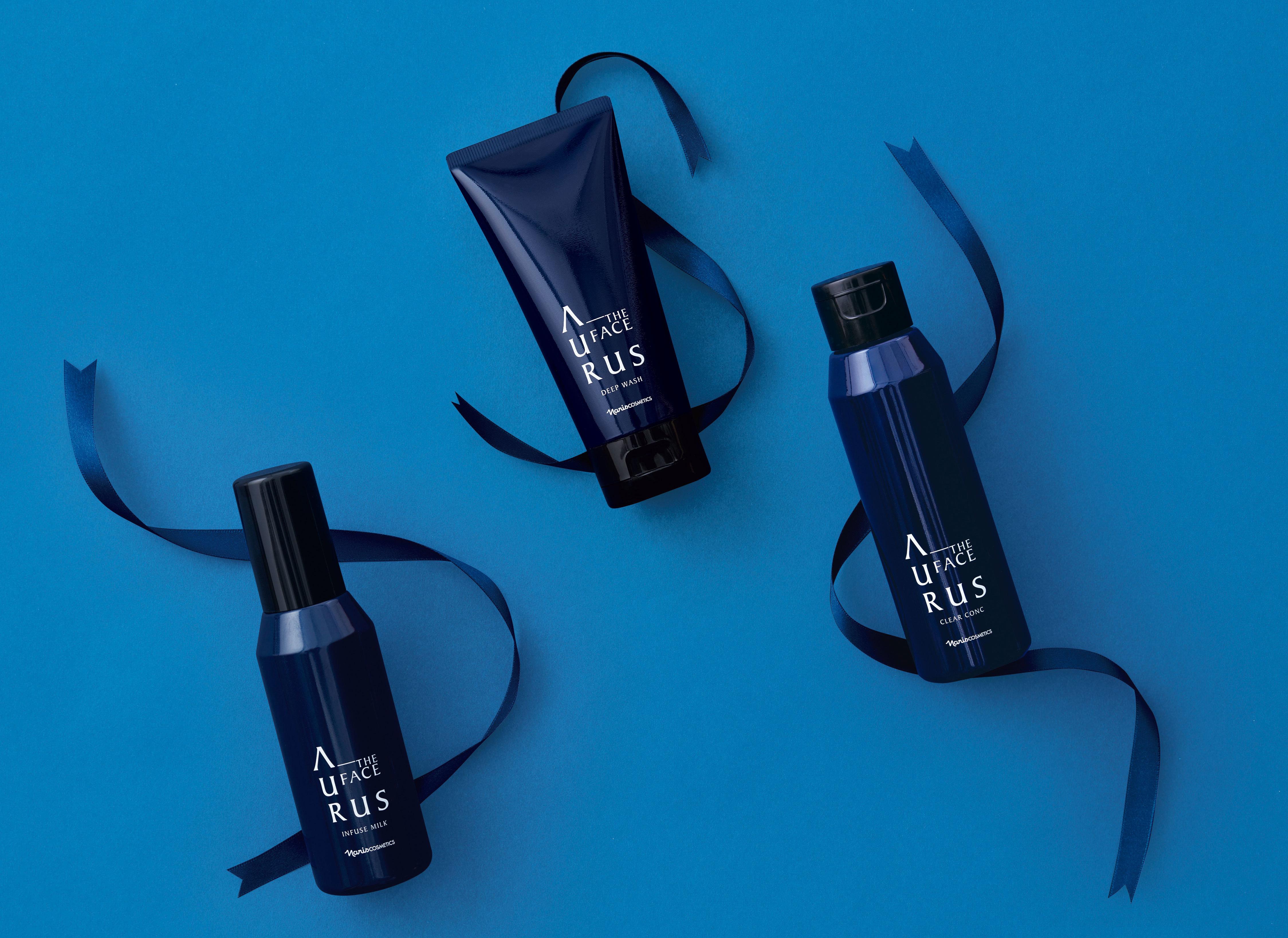 メンズスキンケア「アウラス ザ フェイス」から 初のふきとり化粧水発売