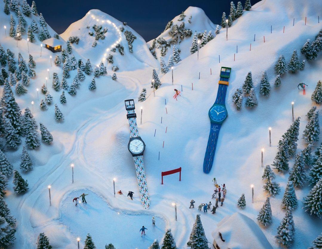 swatch、冬季スポーツ祭典を記念しスペシャルモデル販売