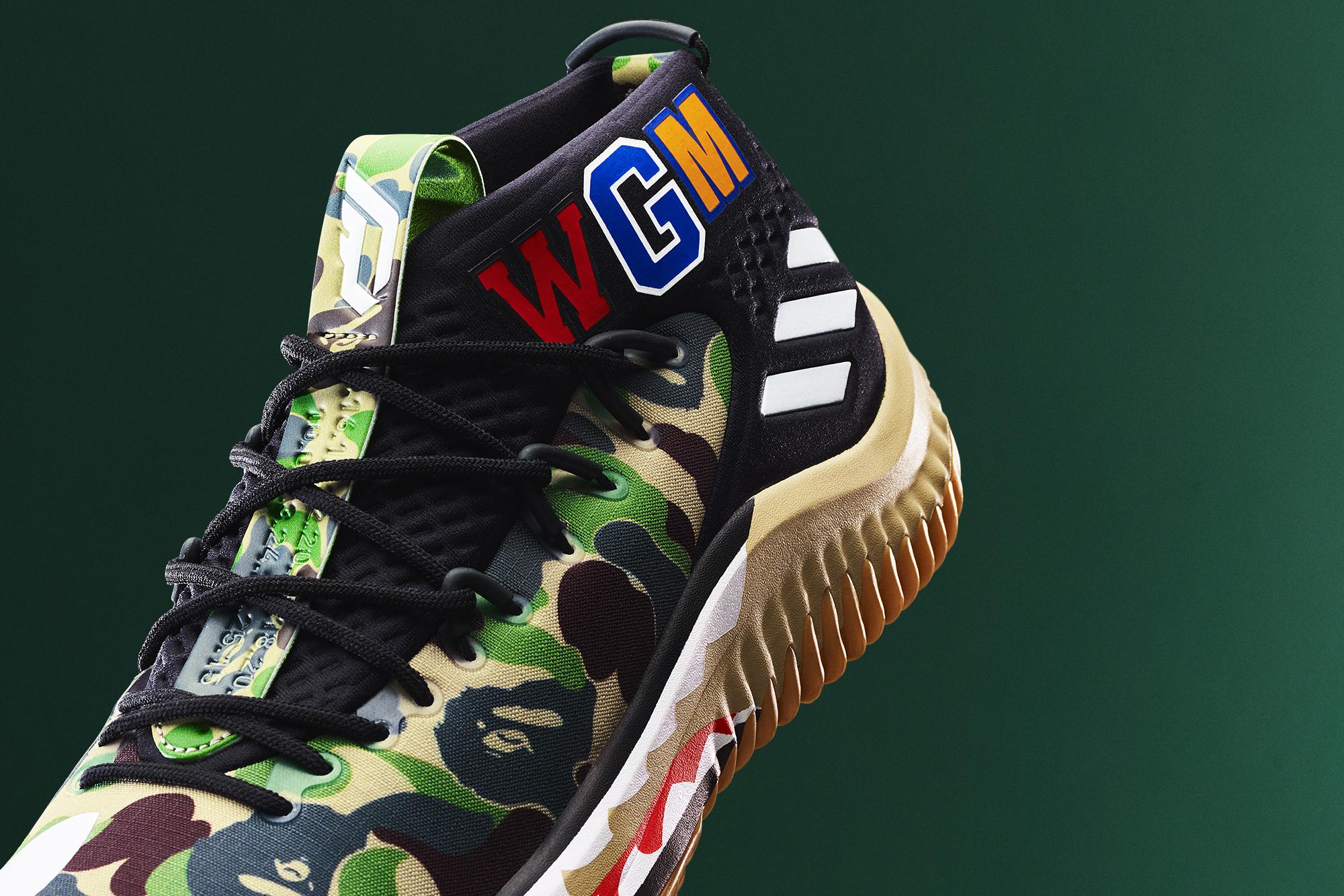 「adidas Basketball」と「A BATHING APE®」のコラボレーションが実現