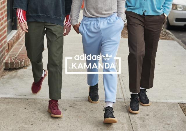 1980年代のフットボールカルチャーからインスパイア「KAMANDA」が登場