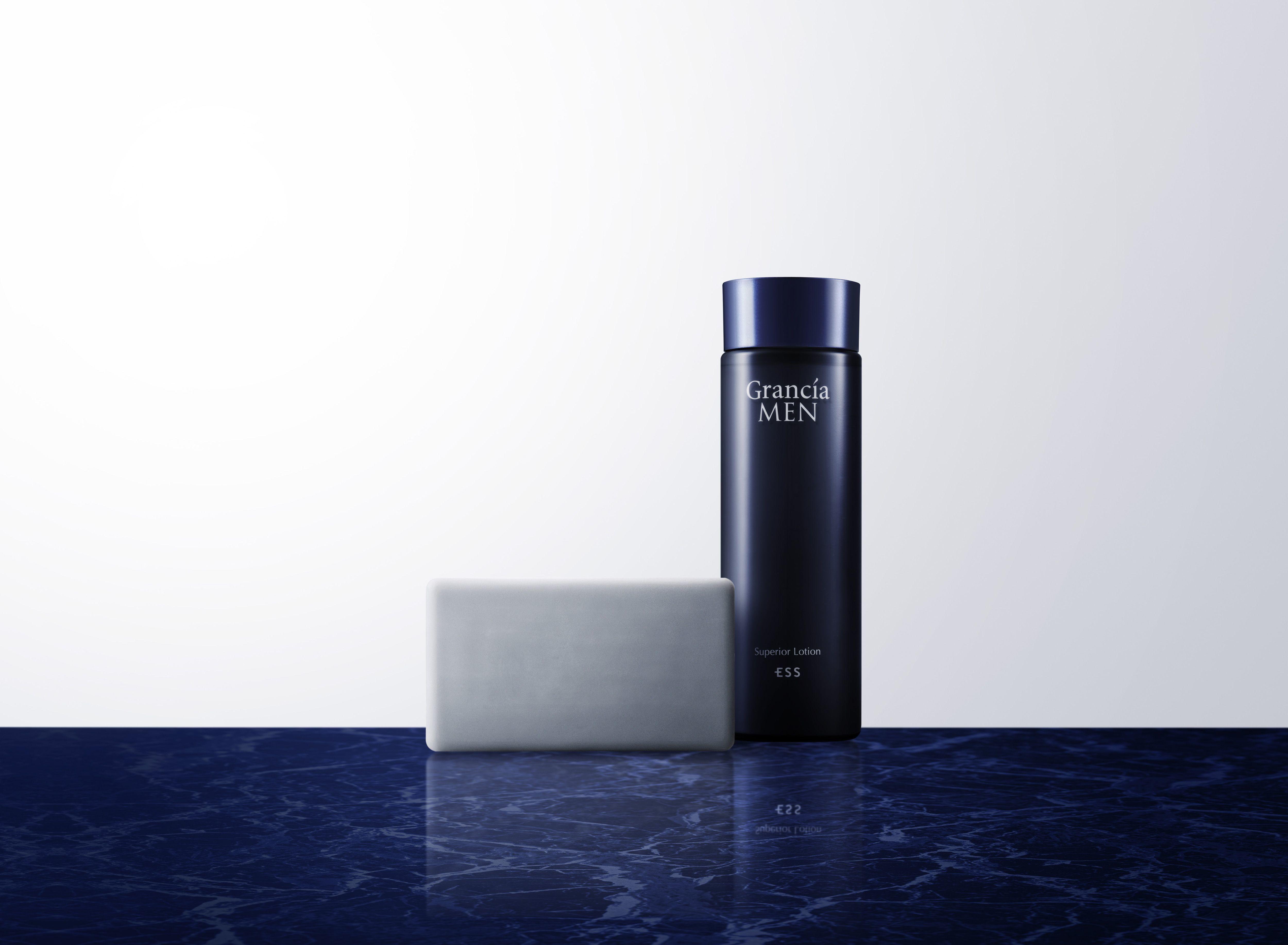 忙しく生きる大人の男性へ洗顔と保湿だけの シンプルスキンケアブランド「Grancia MEN」を発売