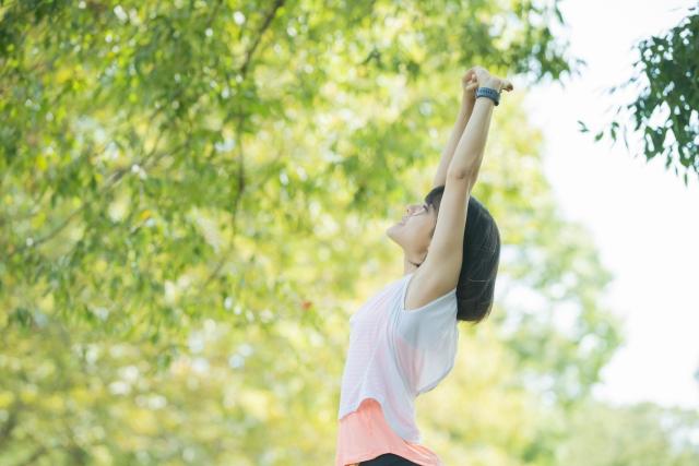 自律神経整える適度な運動気象病予防