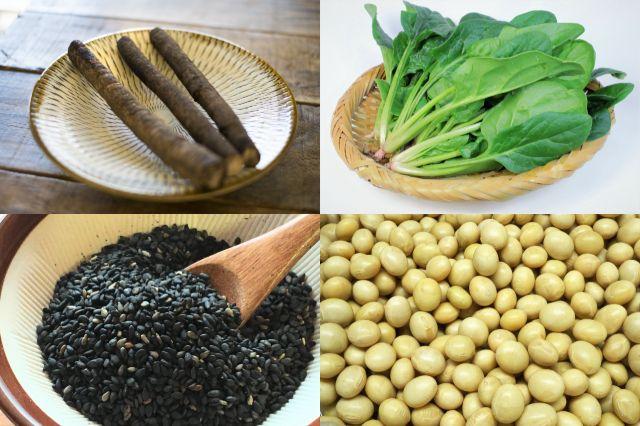 冬乾燥対策セラミドを多く含む食材