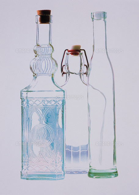 ガラス瓶00243010177の写真素材イラスト素材アマナイメージズ