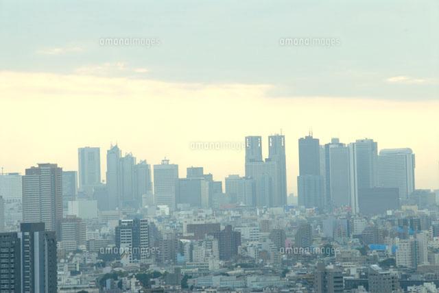 東京都市ビル群00268010564の写真素材イラスト素材アマナイメージズ