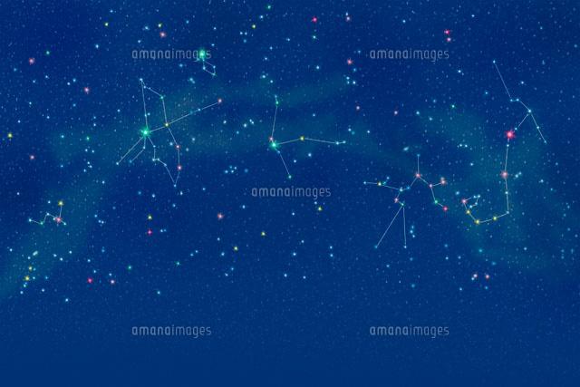 夏の星座[00299010496A]の写真素材・イラスト素材 アマナイメージズ