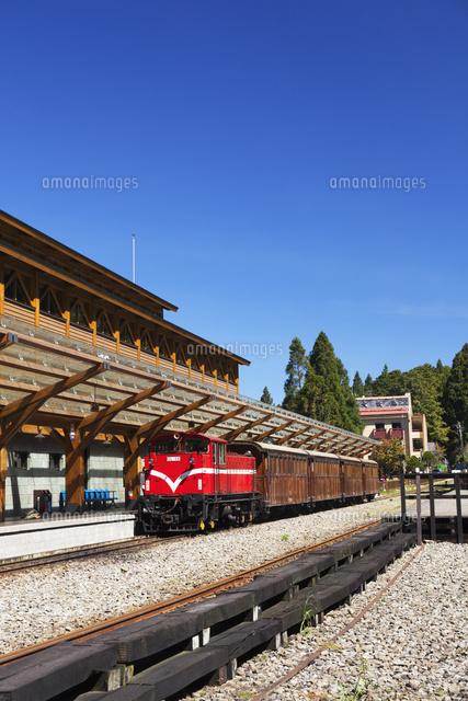 阿里山森林鉄道と沼平駅[0107202...