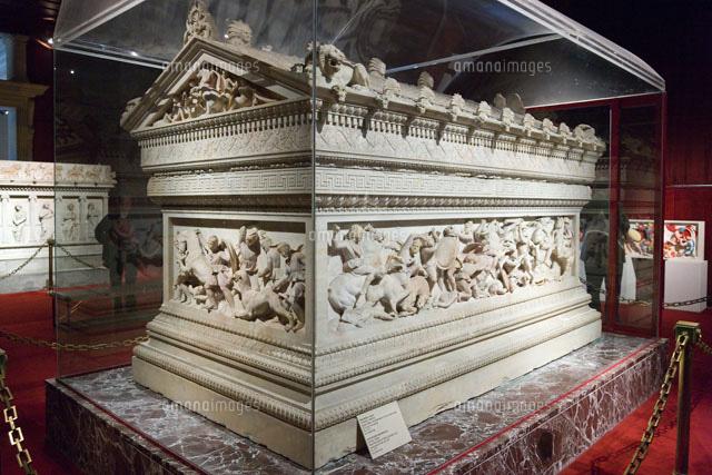 アレクサンドロス大王の石棺 ア...