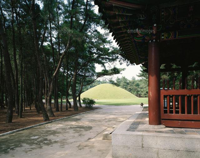 新羅武烈王陵 慶州 韓国[0145801...