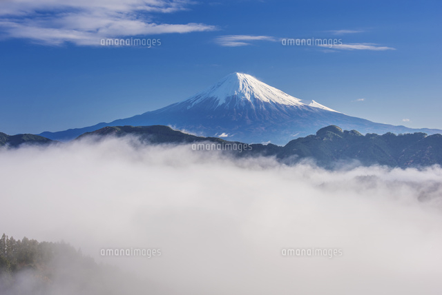 吉原より富士山