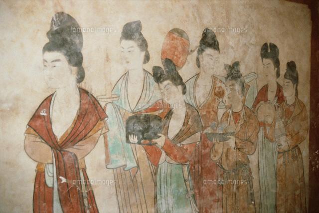 永泰公主墓にて 西安 中国[01646...