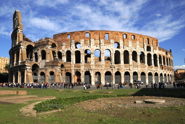 The Coliseum of Rome, south-west view