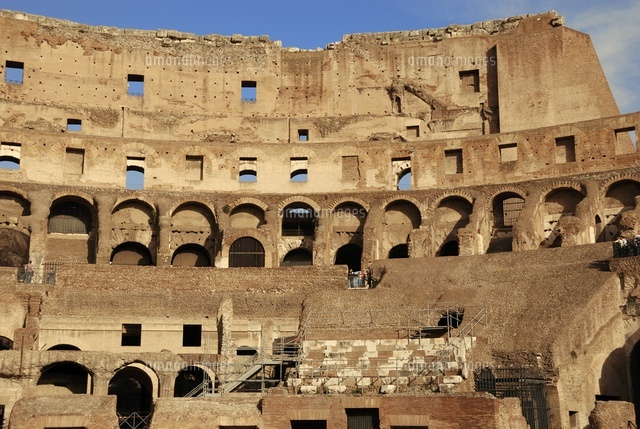 The Coliseum of Rome, interior view