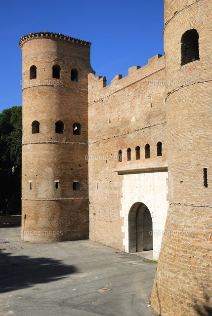 San Giovanni (Saint John's ) gate and Aurelians walls