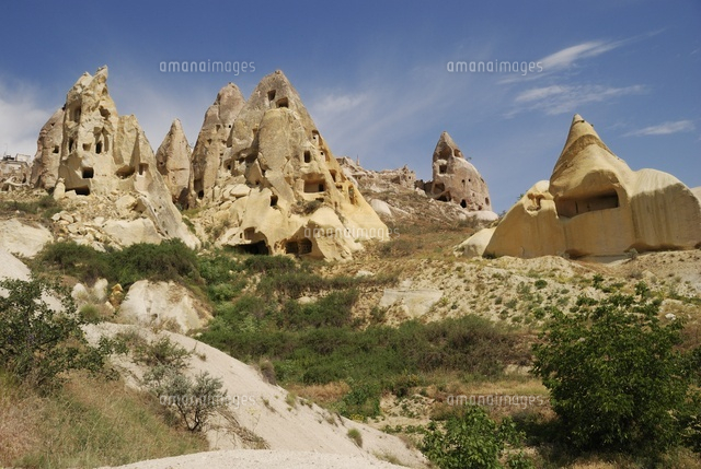 Group of fairy's chimneys