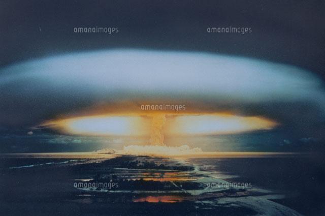 水爆とキノコ雲[01782000672]の...