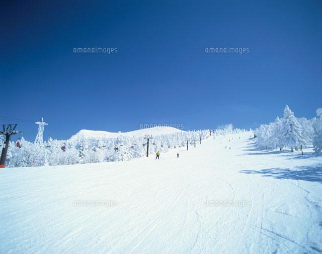 蔵王スキー場 山形県01801000442の写真素材イラスト素材アマナ